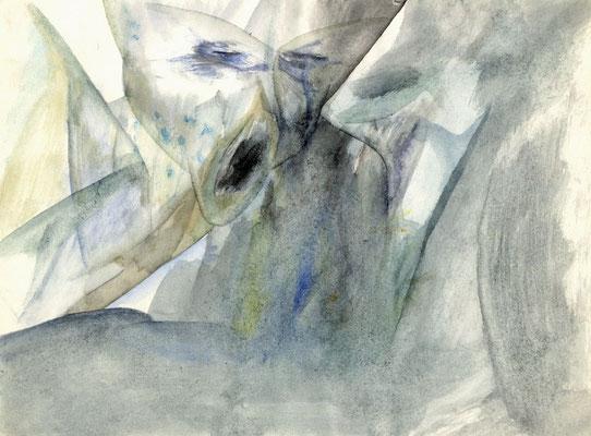 Sans titre - 29 x 21 - Aquarelle sur papier - 1985