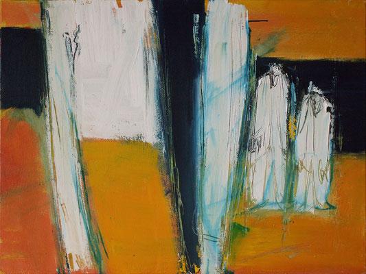 Sans titre - 65 x 50 - Acrylique sur toile - 2006