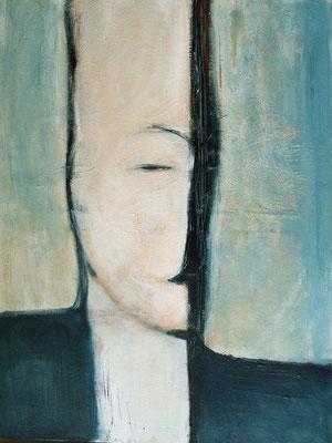Made in China - Retour d'Asie - Lui - 60 x 80 - Acrylique sur toile - 2006