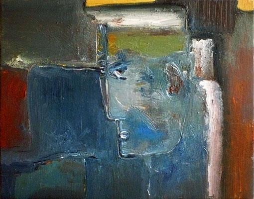 Sans titre - 41 x 33 - Huile sur toile - 2003