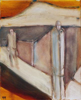 Sans titre - 33 x 42 - Acrylique sur toile - 2006