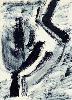 Sans titre - 21 x 29 - Gouache sur papier - 1994