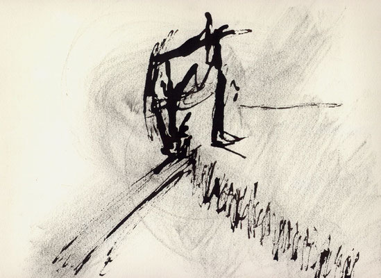 Sans titre - 29 x 21 - Encre sur papier - 1992