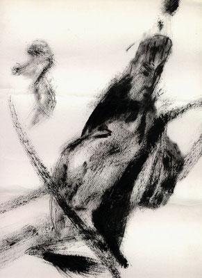 Sans titre - 21 x 29 - Gouache sur papier - 1992