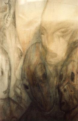 Sans titre - 100 x 56 - Pastel sur papier - 1984