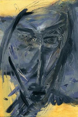 Sans titre - 24 x 35 - Huile sur toile - 2003