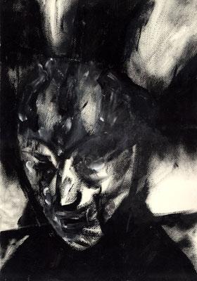 Sans titre - 30 x 42 - Mixte sur papier - 1988