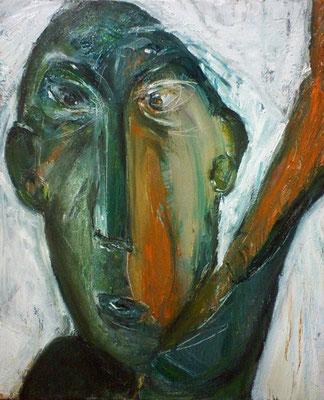 Sans titre - 33 x 41 - Huile sur toile - 2003