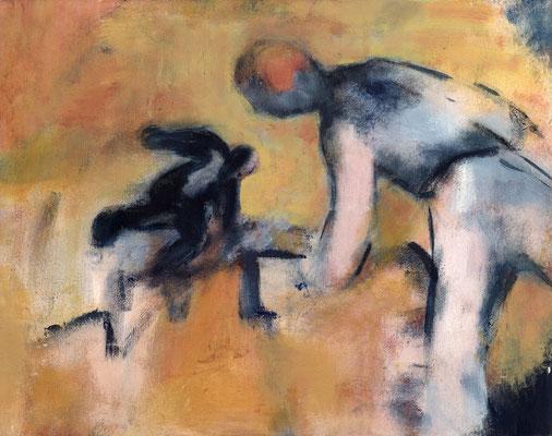 Evasion - 65 x 50 - Acrylique sur toile - 1996