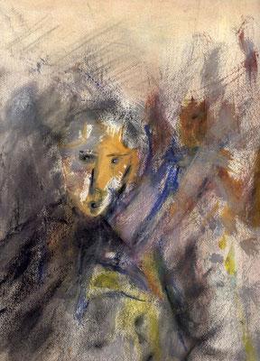 Sans titre - 24 x 32 - Gouache sur papier - 1987