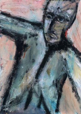 Sans titre - 33 x 46 - Acrylique sur toile - 2001