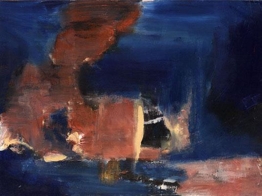 Sans titre - 73 x 54 - Acrylique sur toile - 1994