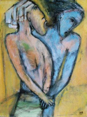 Le secret d'Egypte - 46 x 61 - Acrylique sur toile - 2005