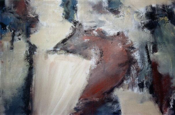 Sans titre - 80 x 60 - Acrylique sur toile - 1993