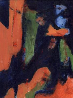 Sans titre - 46 x 55 - Acrylique sur toile - 1994