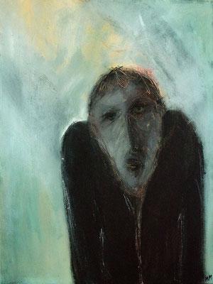 Réfugié - 46 x 61 - Acrylique sur toile - 2005
