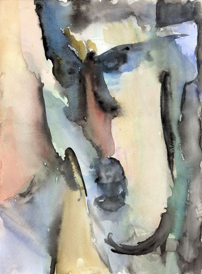 Sans titre - 24 x 32 - Aquarelle sur papier - 2001