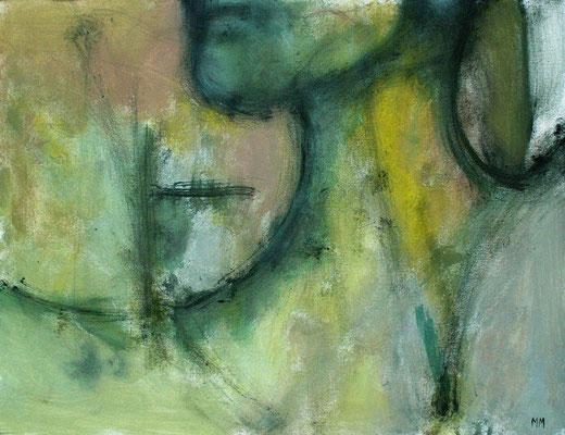 Excentrique 65 x 50 - Acrylique sur toile - 2005