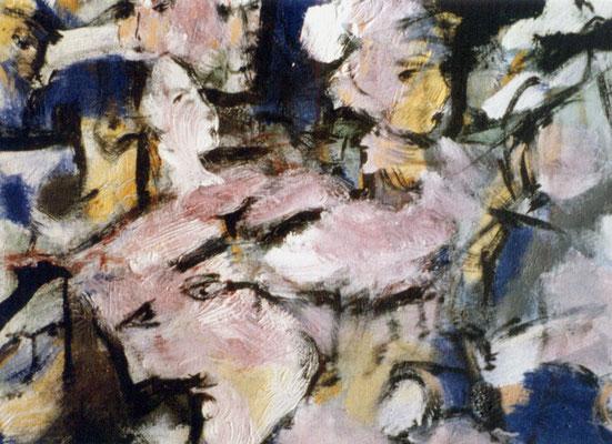 Sans titre - 65 x 46 - Acrylique sur toile - 1990