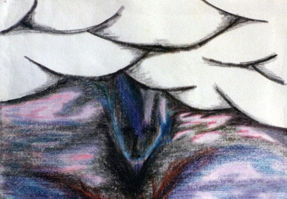 La naissance - 21 x 29 - Crayon sur papier - 1985
