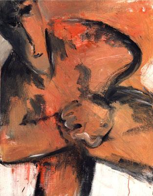 Sans titre - 50 x 65 - Acrylique sur toile - 1996