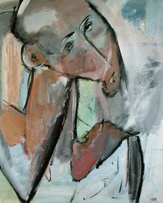 Sans titre - 80 x 100 - Acrylique sur toile - 2005