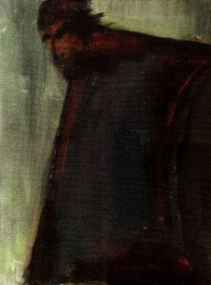 Passage - 46 x 55 - Acrylique sur toile - 1994