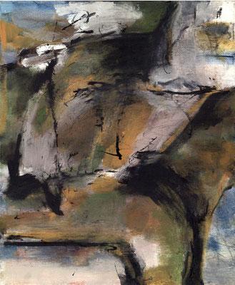 Sans titre - 46 x 55 - Acrylique sur toile - 1993