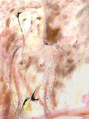 Sans titre - 50 x 65 - Acrylique sur papier - 1994