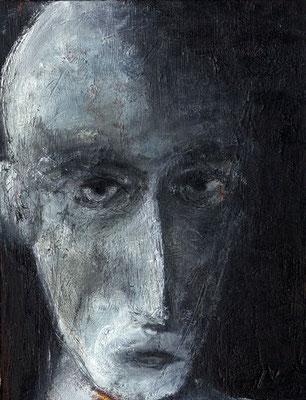 Sans titre - 27 x 35 - Huile sur toile - 2003