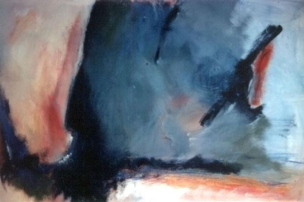Sans titre - 80 x 54 - Acrylique sur toile - 1994