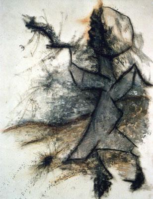 Sans titre - 50 x 65 - Gouache sur carton - 1984