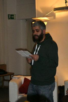 Poetry-Slam in der Schwarzburger Straße