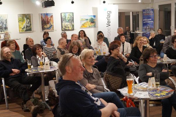 2017 - Im Felix-Punkt-Club ... Foto: Kerstin Lüttke