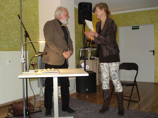 Krimi-Nacht mit Wolfgang Brauer und Maike Bartz als Moderatorin