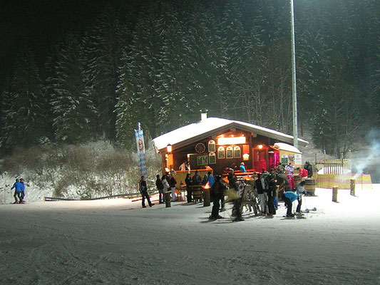 Gute Stimmung beim Après-Ski