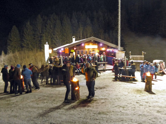 Après-Ski am Wenger Stadl