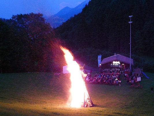 Sonnwendfest am Wenger Stadl