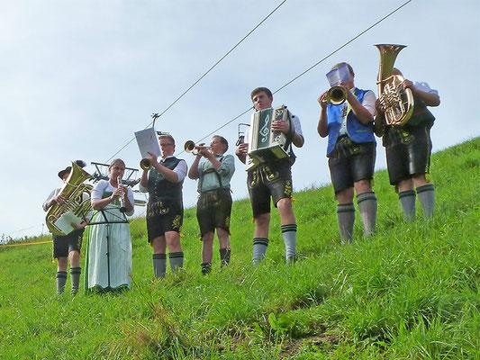 Musikanten am Wenger Stadl