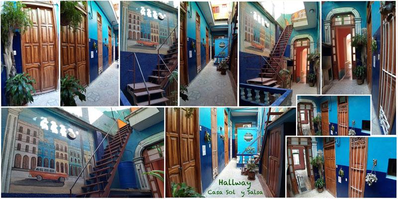 Hallroom of dance school Salsa con Clase and Casa Sol y Salsa