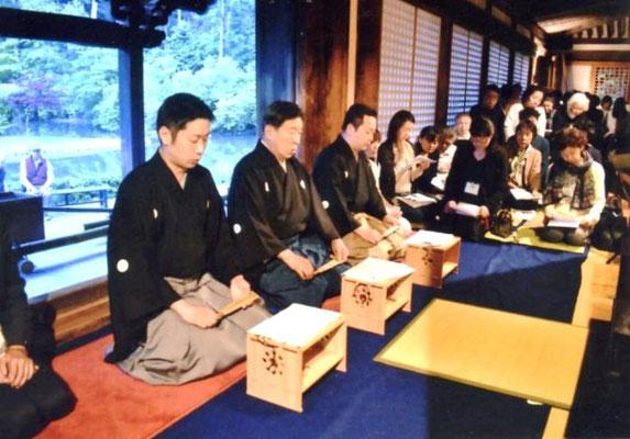 宇髙 竜成氏、通成氏、徳成氏 (左から)