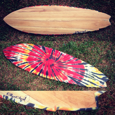 #336 Mixed Twin Fish 5'8""