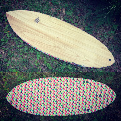 "#431 High Perf Kneeboard 5'7"" x 23"""