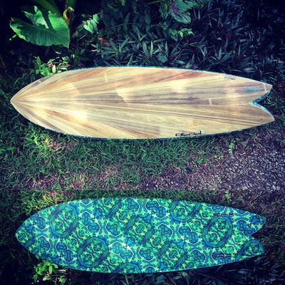 #475 Tribal Fish Venturi 5'8""