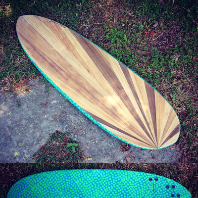 "#355 Pin Tailed Egginos 5'8"" FOR SALE"
