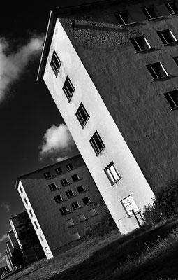 endlose Häuser in Prora