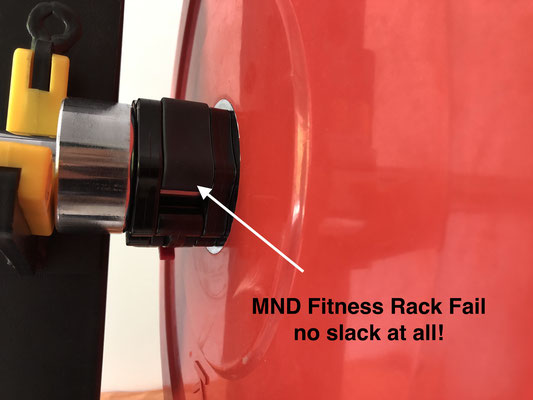 MND Fitness Rack fail
