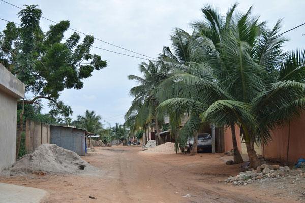 Straßenbild Nordwesten Lomé
