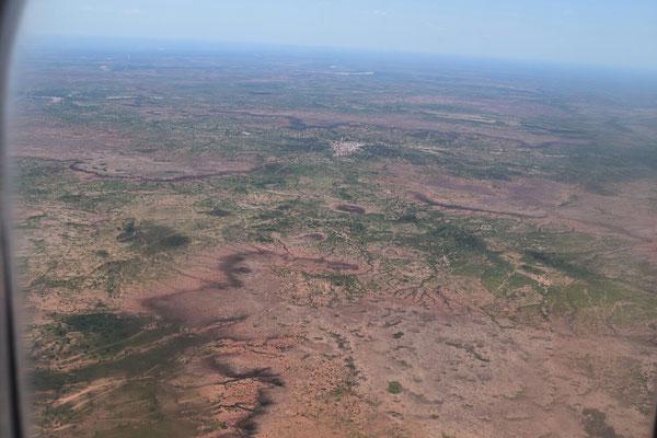 Anflug auf Niamey