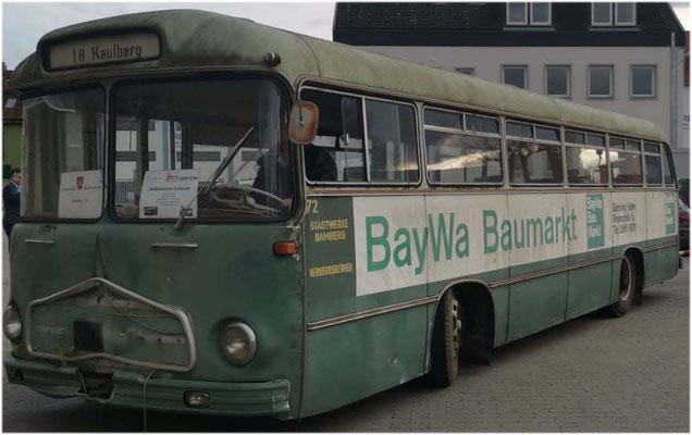Historische Stadtverkehr Bamberg e.V., Frontmaske Magirus Deutz Saturn II restaurieren